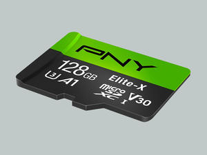 Boost your device's storage with PNY's 128GB microSD card on sale for $21