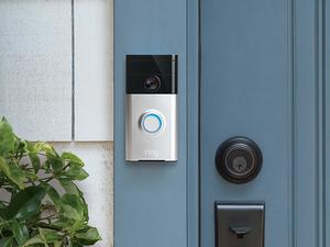 See who's at your door from anywhere with Ring Video Doorbells from $50