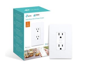 Control your home with two TP-Link in-wall smart outlets on sale for $50
