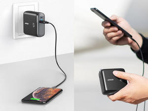 Plug in or charge on the go with the discounted Anker PowerCore Fusion