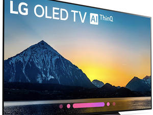 LG's 55-inch OLED 4K smart TV is on sale for $500 off the regular price