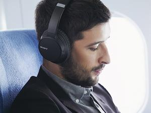 Listen comfortably with Sony's noise-cancelling headphones on sale for $95