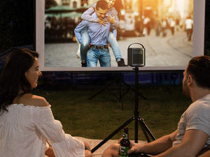 Watch media anywhere with the Mars II Pro portable projector for $480