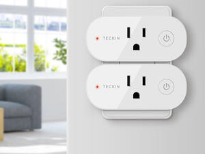 Smarten up your home with $14 off four Teckin smart plugs