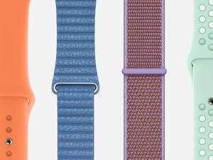 Apple freshens up Apple Watch band colors for spring
