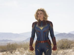 Is Captain Marvel inspirational? That's a tough question