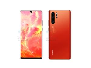 The Huawei P30 Pro looks stunning in Sunrise red!