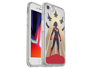 The new Otterbox Symmetry Series Captain Marvel phone cases have landed