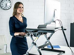 Sit or stand while you work with this sale on FlexiSpot desks and more