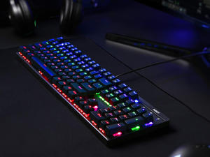 Give your desk a makeover with a discounted Aukey Mechanical Keyboard