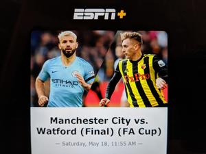 Here's how to watch the FA Cup Final in the US!