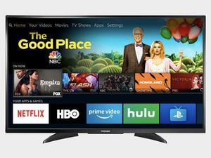 Toshiba's discounted 55-inch 4K Fire TV lets you control your smart home from the remote