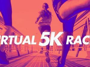 Save 80% on the cost of this virtual 5K and run with us!