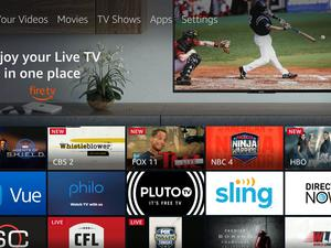 Amazon adds a Live tab to Fire TV