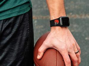 Wear your team on your wrist with a discounted NFL or NHL Apple Watch band