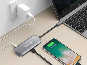 This $30 HooToo USB-C adapter can turn one port into six