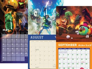 Nintendo's discounted 2020 wall calendars are perfect for Mario, Zelda and Metroid fans