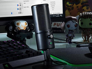 Say it while you stream with the best price on Razer's Seiren X Microphone