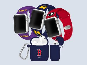 Rep your favorite team with discounted Apple Watch bands and AirPod cases