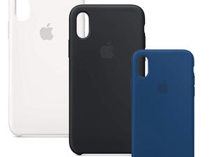 Outfit your iPhone XS in an Apple silicone case at nearly 40% off