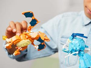 Piece together a Mega Construx Charizard for just $9 this Prime Day