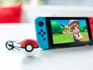 Catch 'em all with almost $10 off the Poké Ball Plus controller for Switch