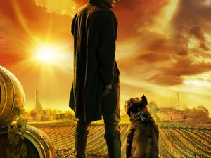 Picard has a dog!