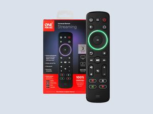 Replace your set of remotes with the One For All Streamer Remote down to $20