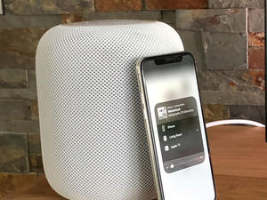 The Apple HomePod is $50 off right now in both Space Gray and White