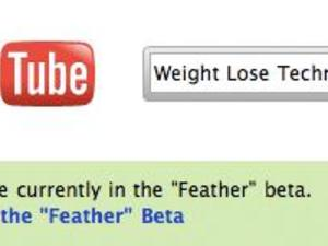 YouTube Lite, As A Feather