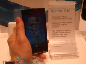 Live from CES: Sony Ericsson Xperia X10 Hands On