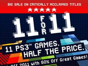 11 PSN Games Cut by 50% in Today's Sale