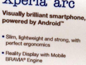 CES 2011: Sony Unveils The Xperia Arc
