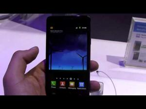 Samsung Galaxy S 2 Hands-On Video