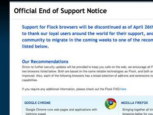Flock Browser Will Socialize No More