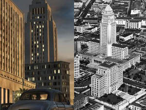 """L.A. Noire Locale Modeled After 1920s """"Extreme Aerial Photography"""""""
