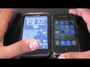 What's in Your Pocket? BuzzKeyur's ThunderBolt vs iPhone Video