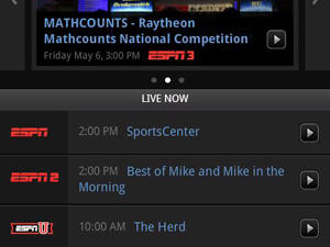 WatchESPN for Android Launches Today