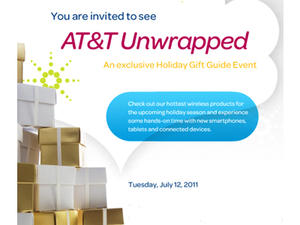 AT&T July Event Promises to Show Off Holiday Releases