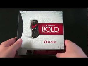 BlackBerry Bold 9900 Unboxing (video)