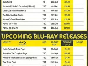 Blockbuster Flyer Suggests PlayStation Vita Will Arrive on October 28