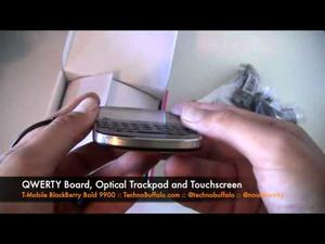 T-Mobile BlackBerry Bold 9900 Unboxing (video)