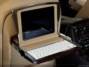 This Bentley Concept Boasts Two iPads, an iPod touch and a Mac Mini