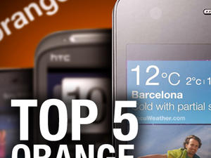 Top 5 Phones on Orange (U.K.)