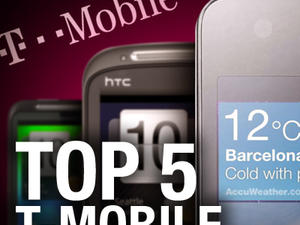 Top 5 Phones on T-Mobile (U.K.)