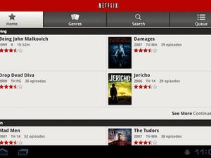 Netflix Android App Upgraded to Support Honeycomb