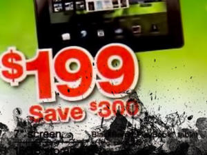 BlackBerry PlayBook to Run $199 at Staples on Black Friday