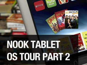 Barnes and Noble Nook Tablet: OS Tour, Part 2 (video)