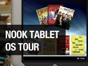 Barnes and Noble Nook Tablet: OS Tour, Part 1 (video)