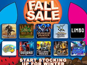 Sony Announces the PlayStation Network's Fall Sale